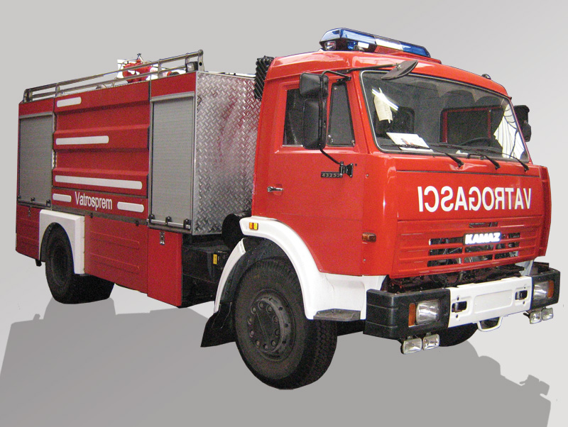 Water Foam Fire Fighting Vehicles