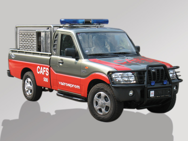 Firefighting Vehicle - CAFS System