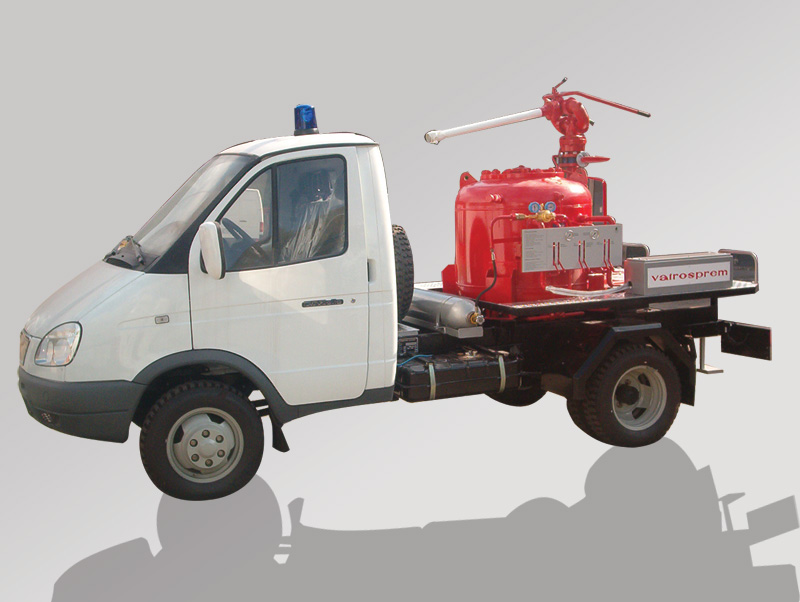 Powder Firefighting Vehicle