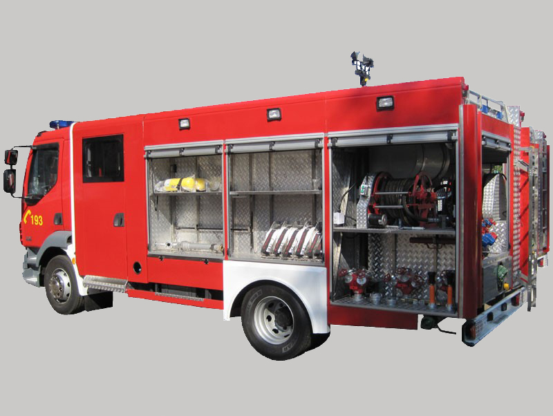 Technical Firefighting Vehicle