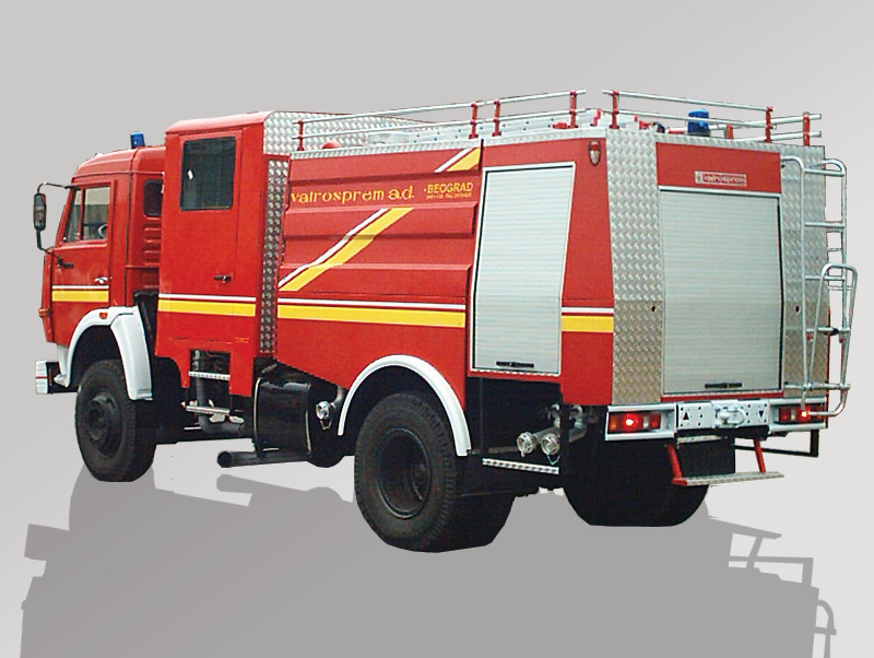 Water Firefighting Vehicle