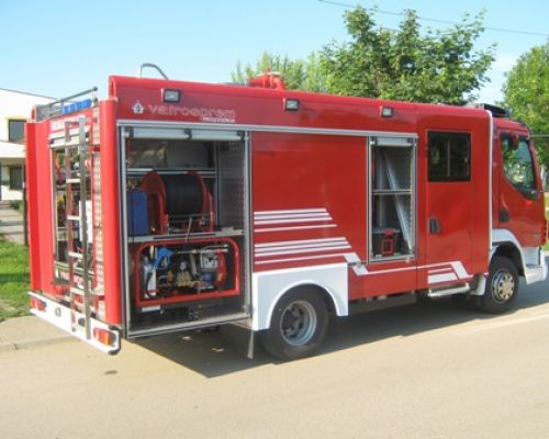 5 CAFS vehicles have been delivered to the Fire department of Republic of Macedonia Date: 15-06-2010