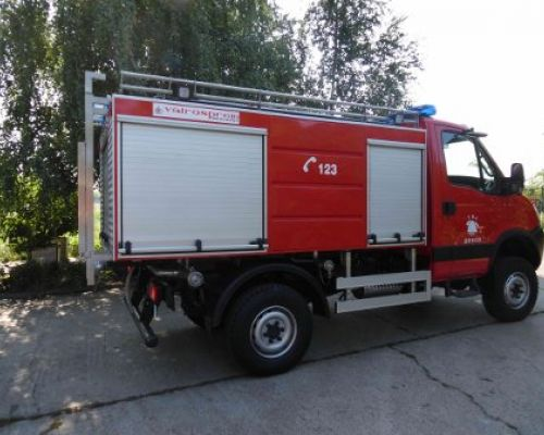 Doboj City, Fire brigade, Serbian Republic, Bosnia and Hercegovina Date: 08-07-2015